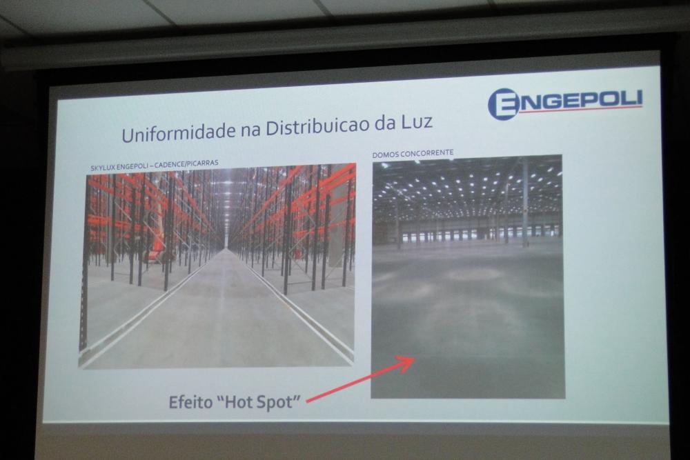 Diferença entre domos prismáticos da ENGEPOLI com concorrentes