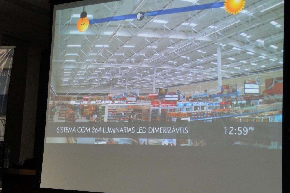Sistema híbrido em operação - vídeo demonstrando da performance