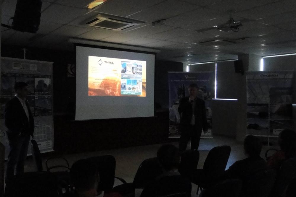 Eng. Nilton Dimas da BRASECOL deu início à sua palestra