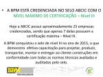 Selo de Excelência ABCIC - NIVEL III