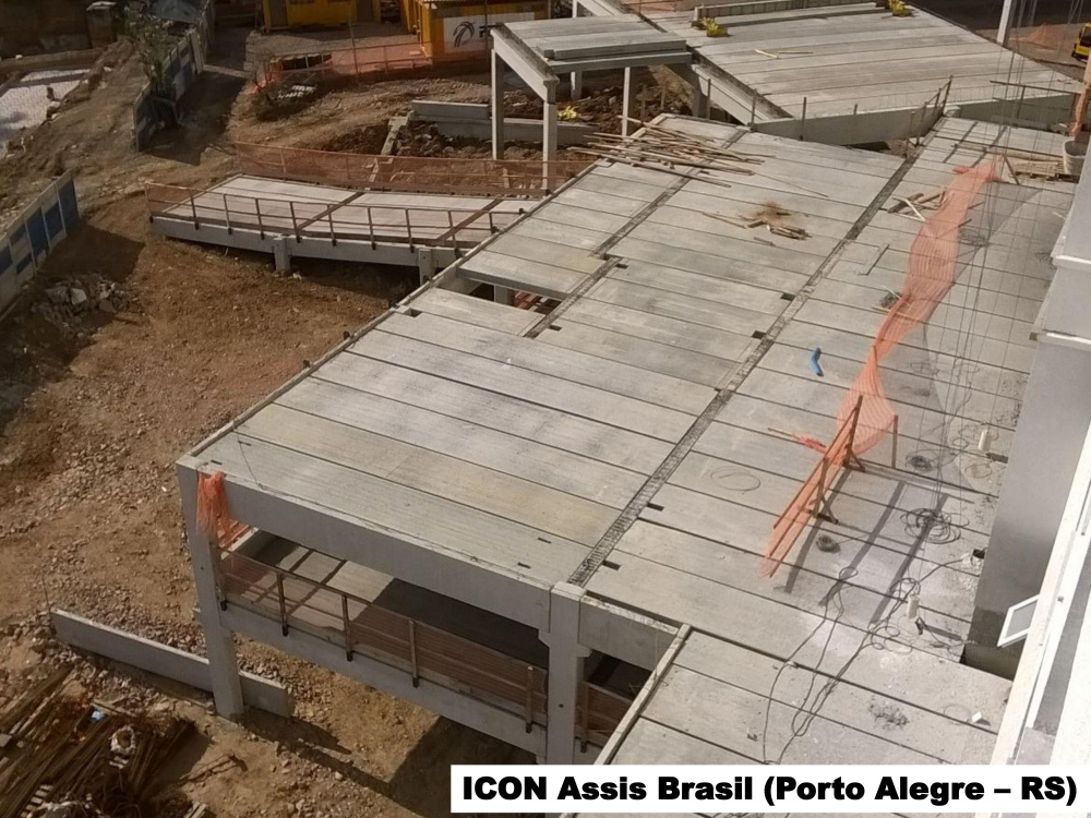 Estruturas para obras comerciais e residenciais
