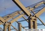 Alta tecnologia de projeto, concreto de alto desempenho auto-adensável e protensão