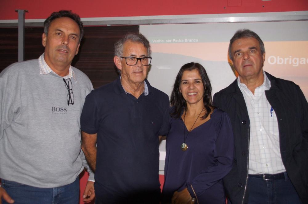 Engs. Nivaldo Richter, Dilnei Bittencurt, Patrícia Brandão e Ricardo Brandão