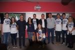 Equipe do CAEC com o palestrante e apoiadores
