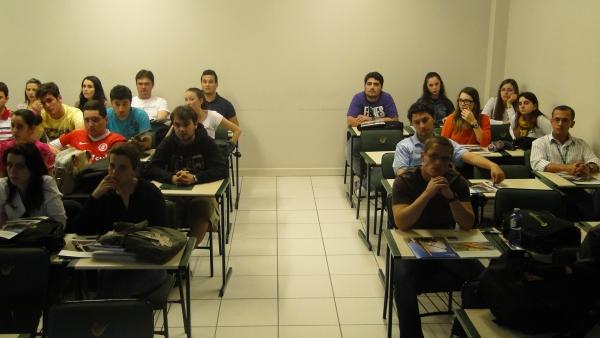 Vista parcial da classe