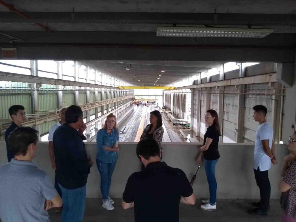 Visita técnica à BPM PRÉ-MOLDADOS Unid.02
