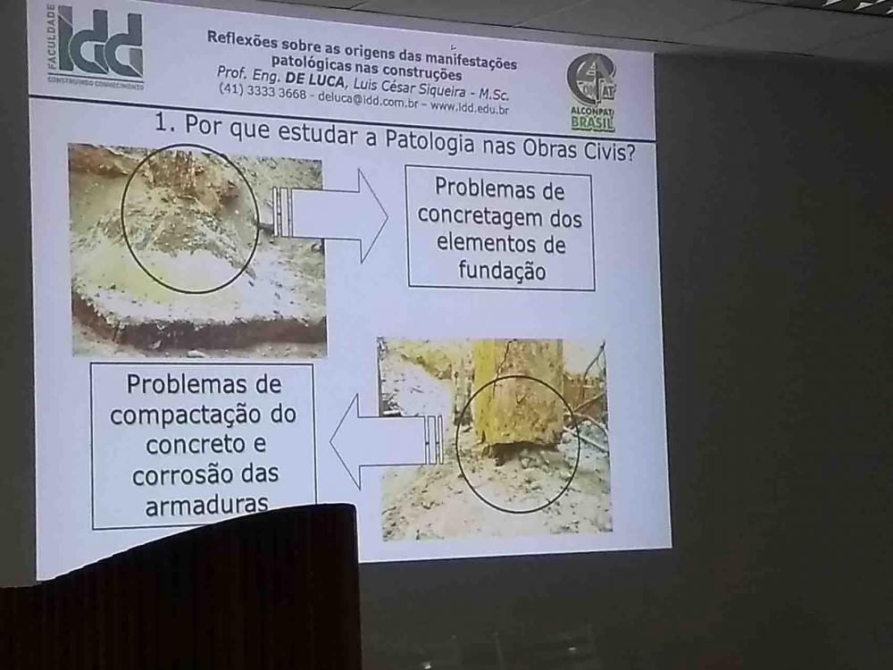 13/03/18: Palestra do Eng. Luis César De Luca