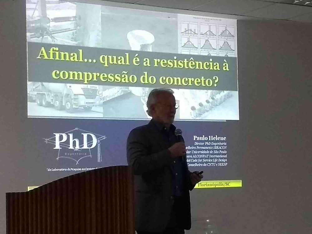 13/03/18: Palestra do Eng. Paulo Helene
