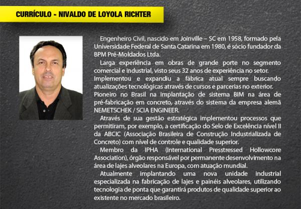 Curriculo de NIVALDO DE LOYOLA RICHTER