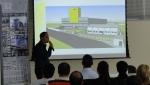 Eng. Thiago comenta sobre o projeto da Unidade 02 da BPM, em Forquilhinha SC.