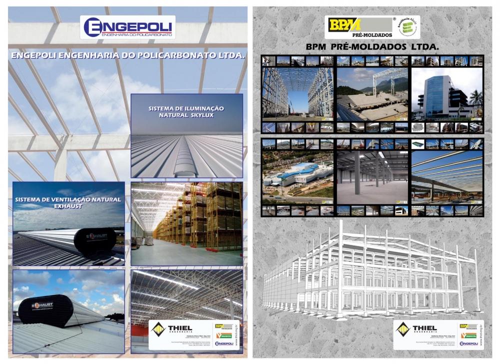 As próximas palestras técnicas acontecerão em 07 de agosto de 2013, com temas abordados pelos engenheiros da ENGEPOLI e BPM PRÉ-MOLDADOS.