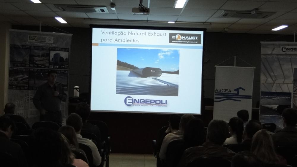 Paulo César fala sobre os princípios de funcionamento do sistema de ventilação natural EXHAUST, e sobre a importância das entradas de ar renovado.