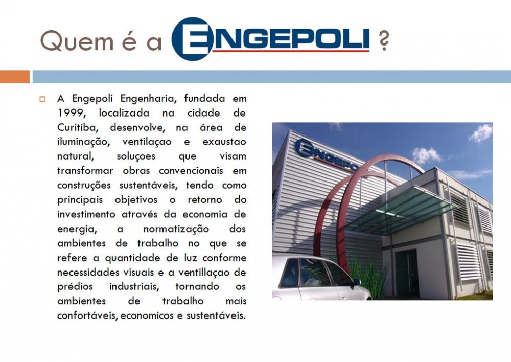 ENGEPOLI ENGENHARIA DO POLICARBONATO