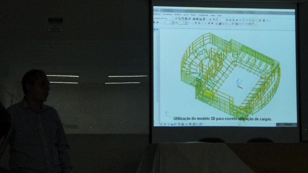 Dimensionamento estrutural em 3D, com análise minuciosa e rápida.