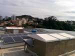 Usina ELETROSUL Fpolis - Painéis fotovoltaicos