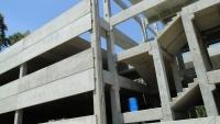 Montagem - Detalhe da escada pré-fabricada