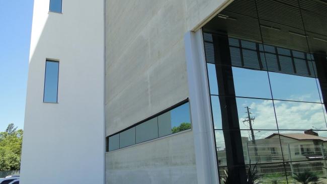 Detalhe do hall de entrada
