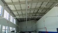 Vista interna Oficina Mecânica